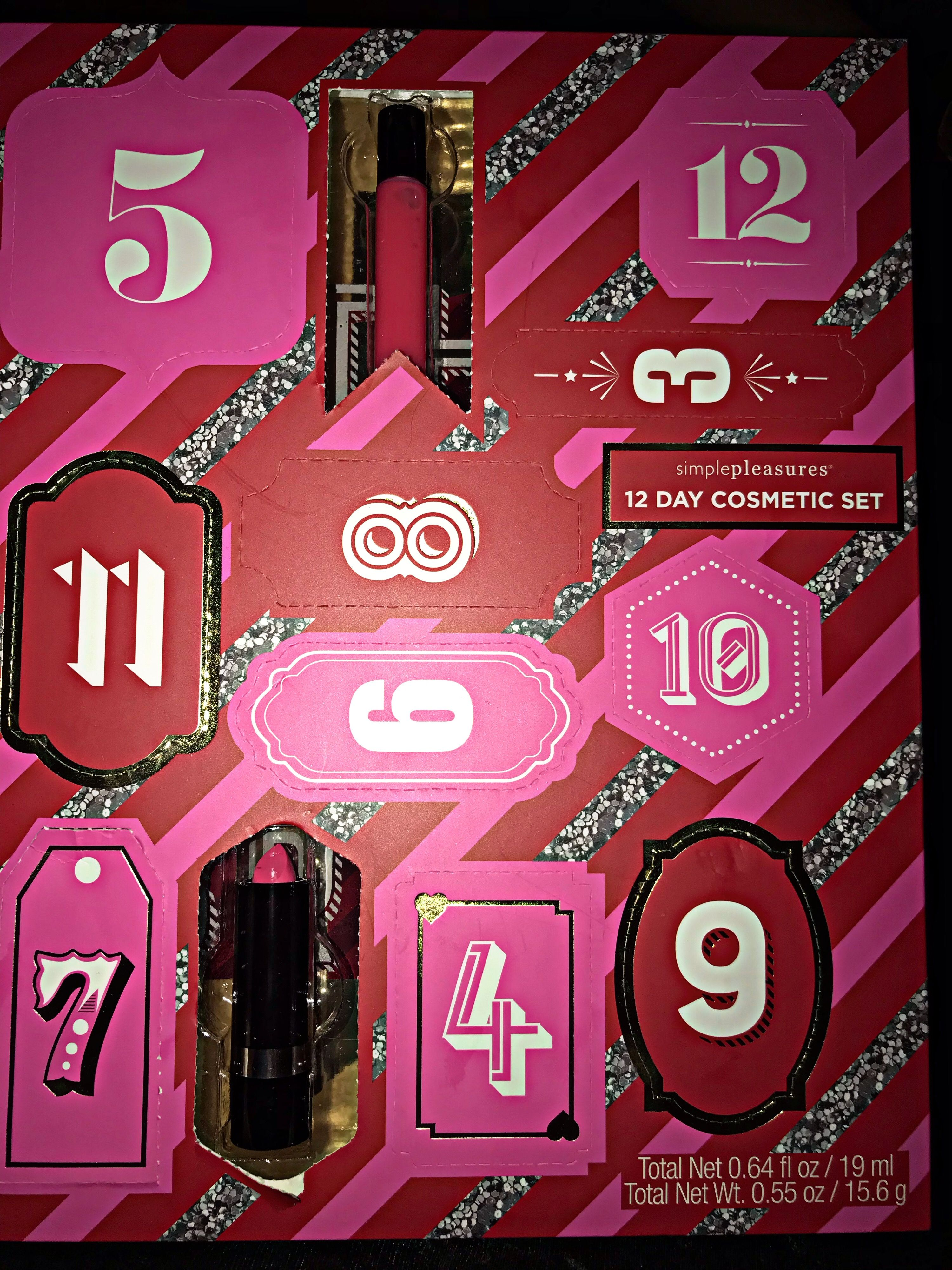 My Daughter S Beauty Advent Calendar Simple Pleasures 12 Day Cosmetics Set Christmas Ca Beauty Advent Calendar Cosmetic Sets Christmas Countdown Calendar