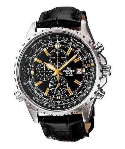 851c26b682d6 reloj casio edifice ef 527 crono cuero hombre 100% original ...