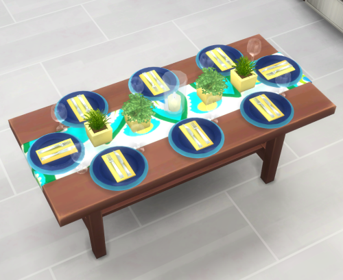 The Sims 4 | brazenlotus: Clutter Your Table Set - slot ...