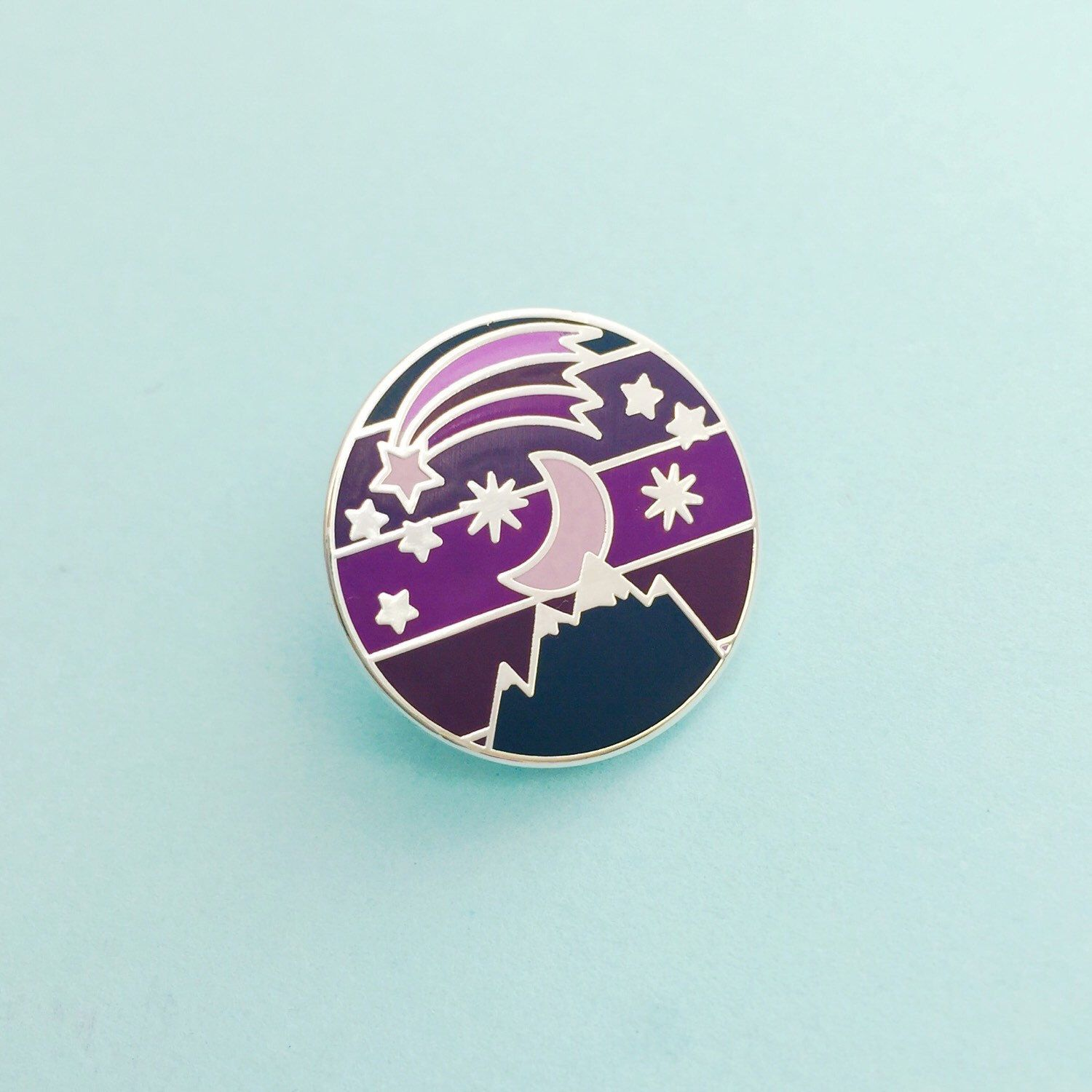 Pinback Buttons Badges Pins Starry Sky Colorful Lapel Pin Brooch Clip Trendy Accessory Jacket T-Shirt Bag Hat Shoe