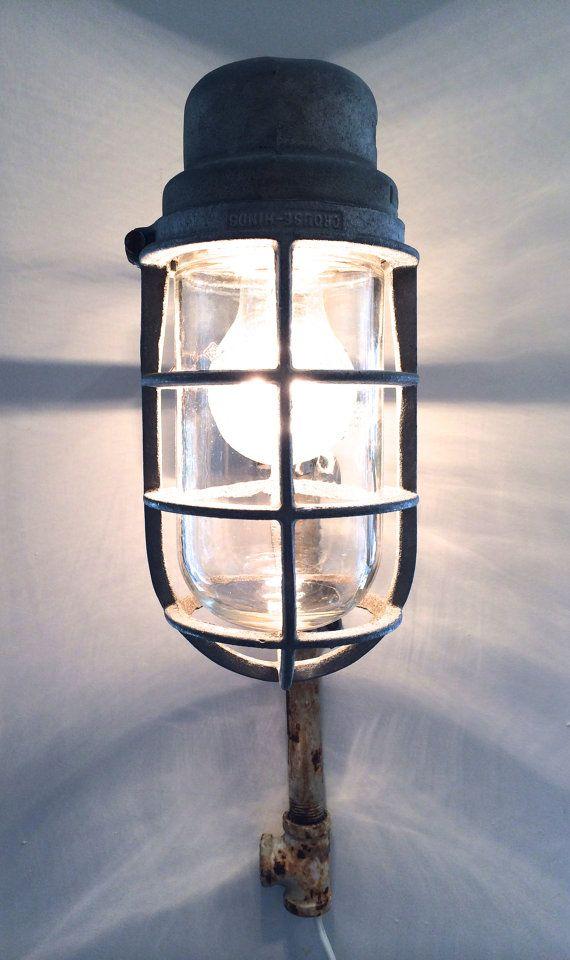 Vintage Crouse Hinds Explosion Proof Light Light Light Fixtures Vintage