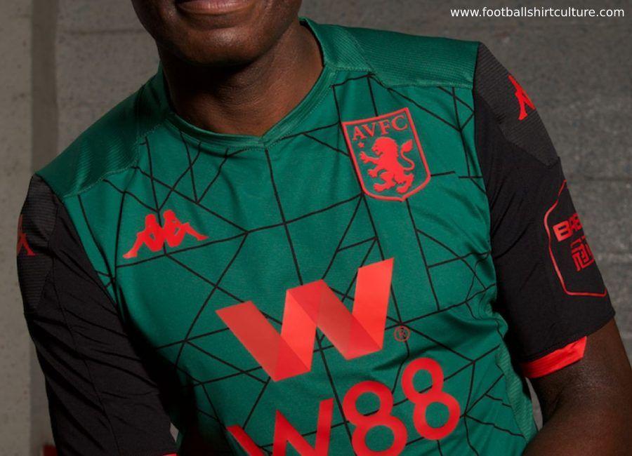 Aston Villa 2019 20 Kappa Third Kit Astonvilla Footballshirt Avfc Aston Villa Jersey Design Kappa