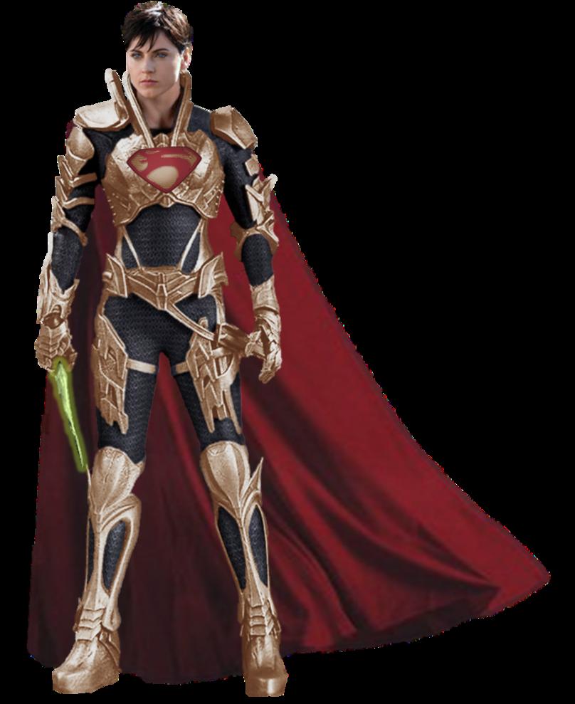 Faora Superwoman Kryptonian Armor by gasa979