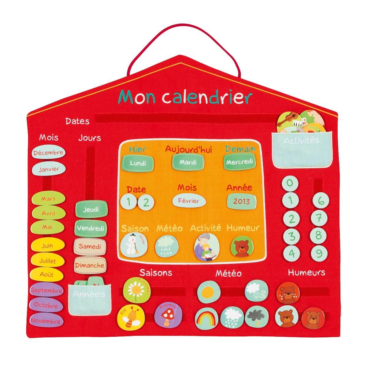 calendrier oxybul pour enfant de 4 ans 7 ans oxybul veil et jeux dyi kids pinterest. Black Bedroom Furniture Sets. Home Design Ideas