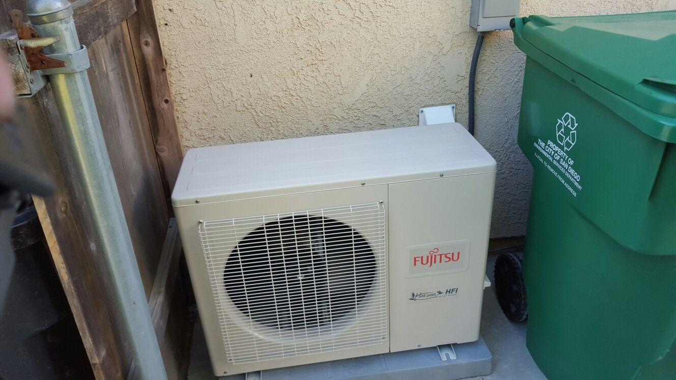 Fujitsu condenser Air conditioning, Air conditioner