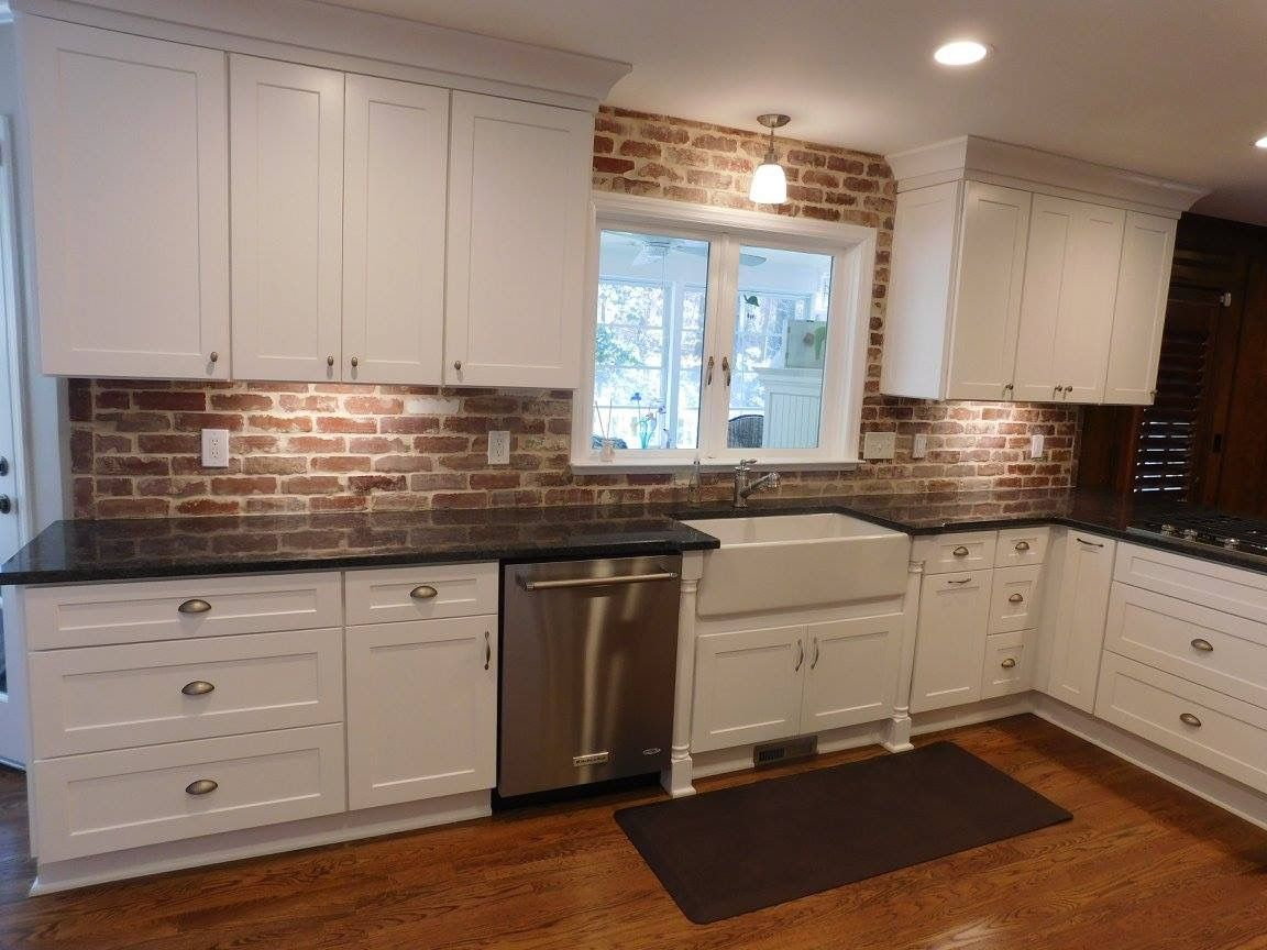Reclaimed Recycled Common Bricks And Brick Tiles For Kitchen Backsplash,  Indoor Outdoor Use, Brick Flooring, And More! Lori:bottom Cubboard Idea  Switch Draw ...