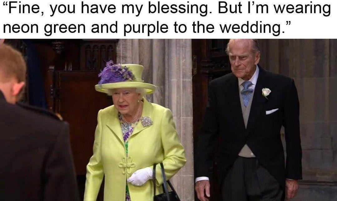 Who Did This Royalwedding Windsorcastle Queenelizabeth Sundayfunny Royal Wedding How To Wear Suit Jacket