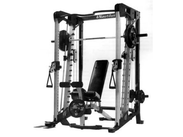 Smith machine home gym nautilus smith machine homegymreview