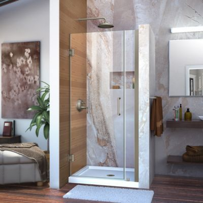 Dreamline Unidoor 29 30 Frameless Hinged Shower Door With Clear