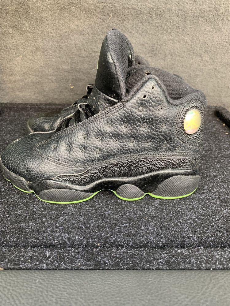 75a8cb825ebab Kids Air Jordan 13 XIII Retro Altitude Green Size 13c #fashion ...