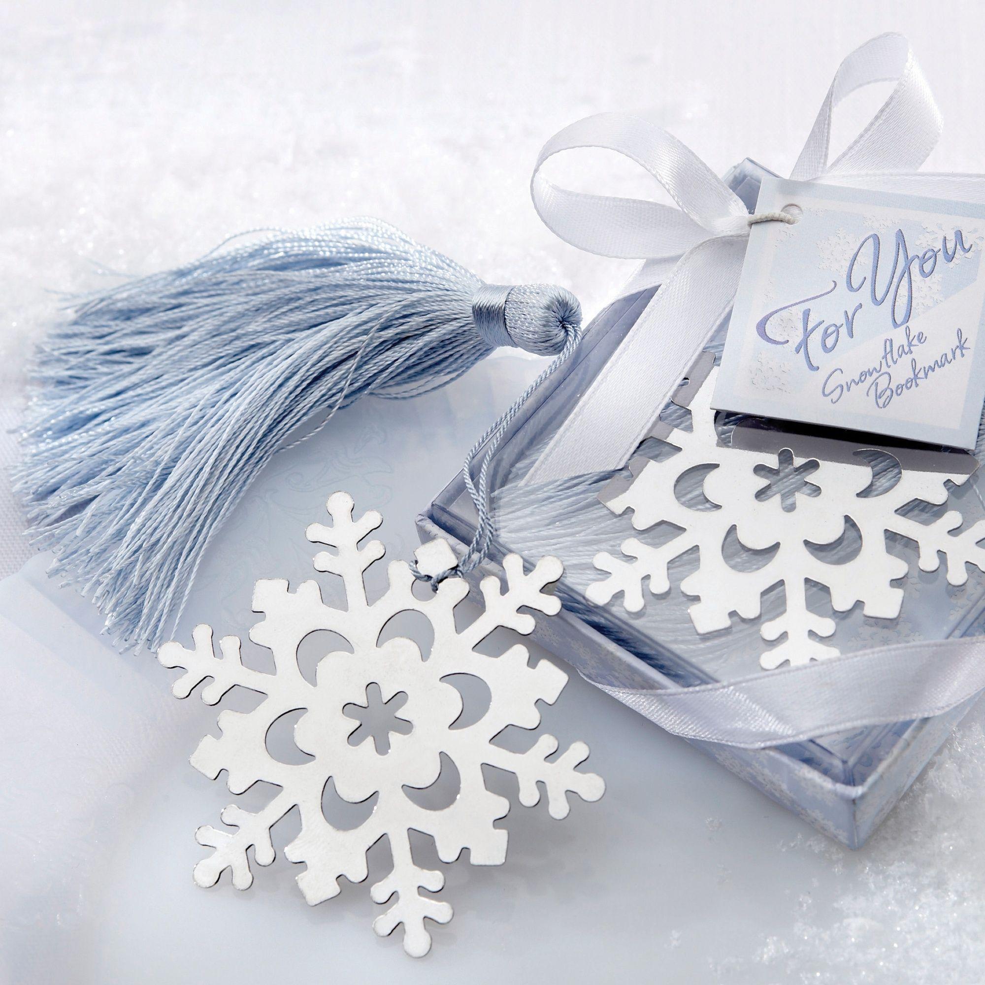 Alta snowflake? Snowflake Bookmark Wedding Favor ...