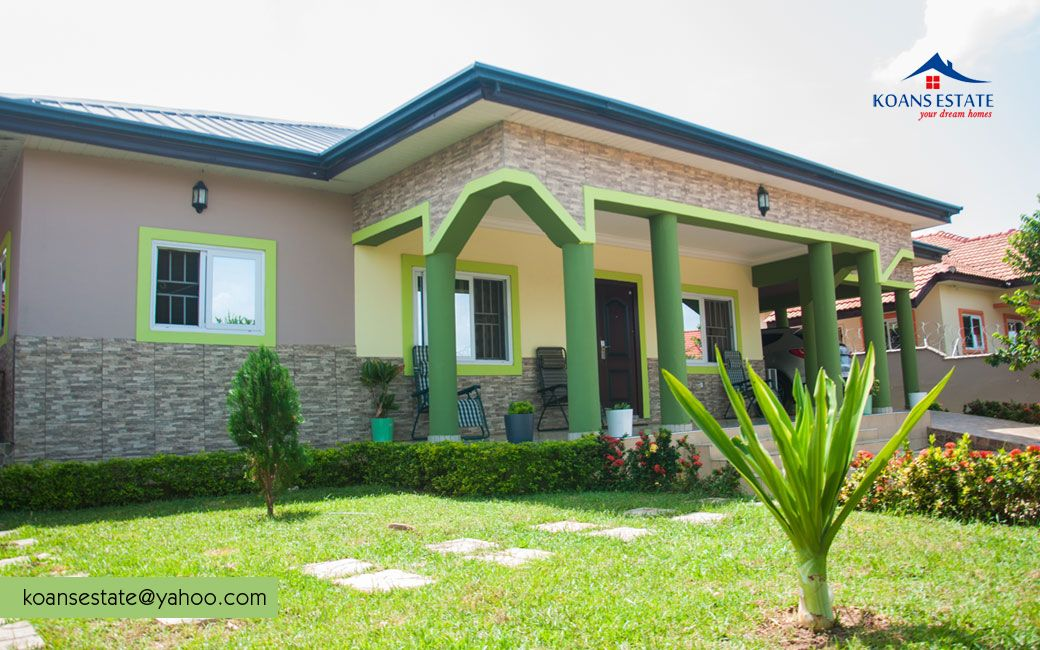Pin by Koansestate on Real estate company in 2020 | Real ... Bungalow House Designs In Ghana on home designs in ghana, hotel designs in ghana, semi detached house designs in ghana, building designs in ghana,