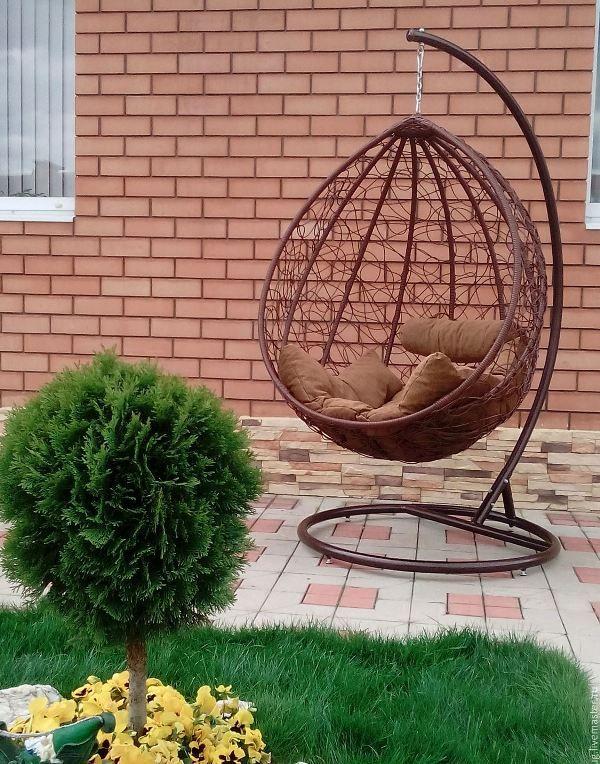 Подвесное кресло своими руками: гамак, кокон, яйцо