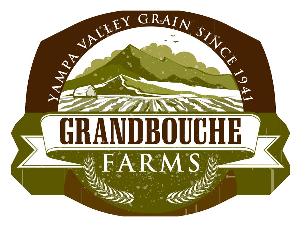 Grandbouche Farms. Yampa valley grain since 1941. Farm logo design ...