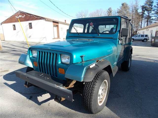 1994 Jeep Wrangler Teal Green Blue Http Www Iseecars Com Used