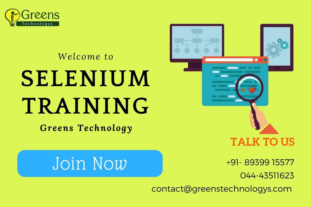 Selenium Training In Chennai | Selenium Training | Train
