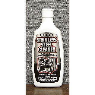 Elco Stainless Steel Cleaner Best Stuff Ever To Clean Your No Streaks