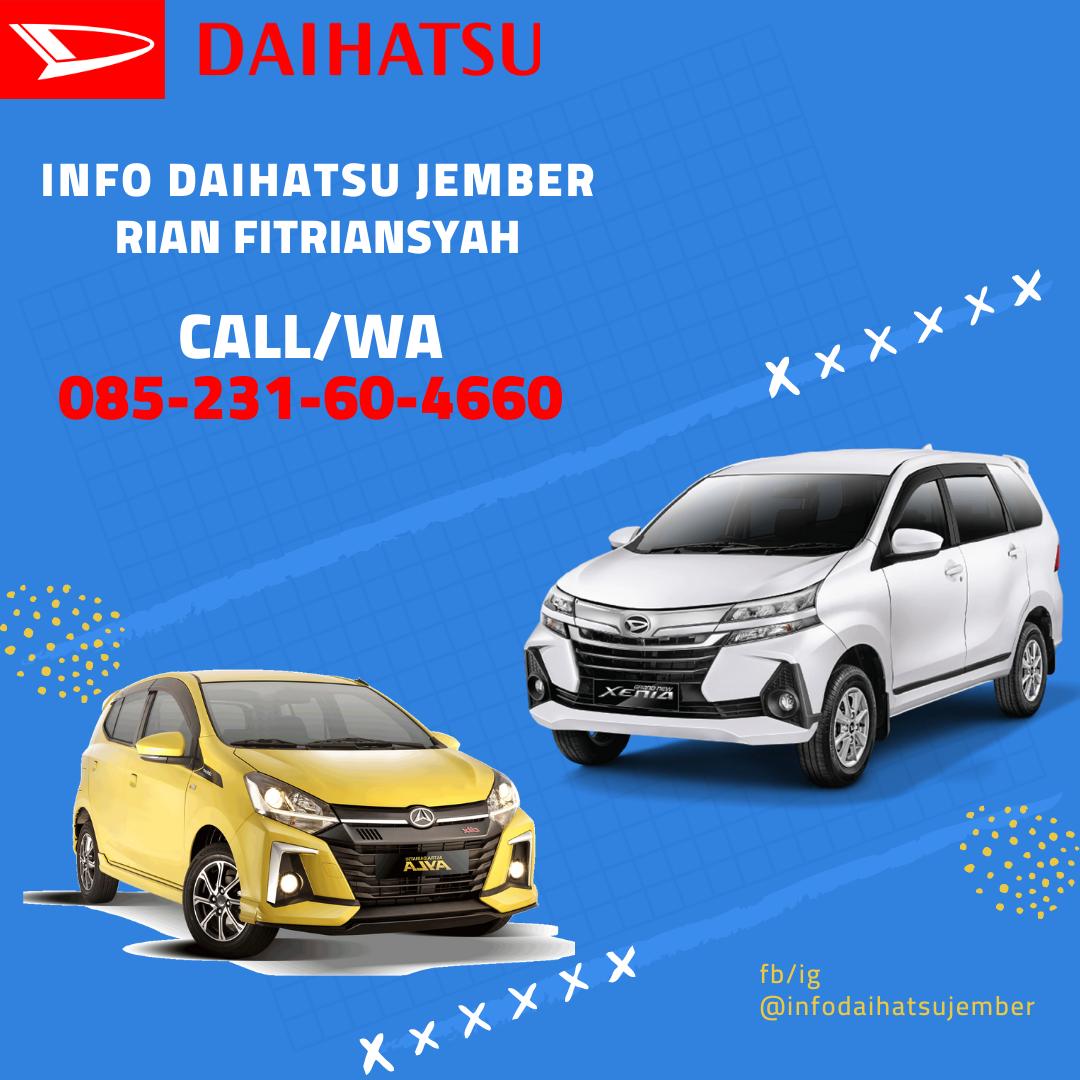 Harga Daihatsu Banyuwangi Promo Daihatsu Banyuwangi Info 085231604660 Rian Daihatsu Mobil Kota
