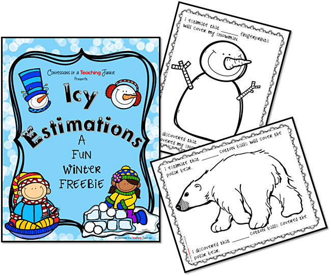 Winter Estimation Activity Printables | Ten frames, Fun activities ...