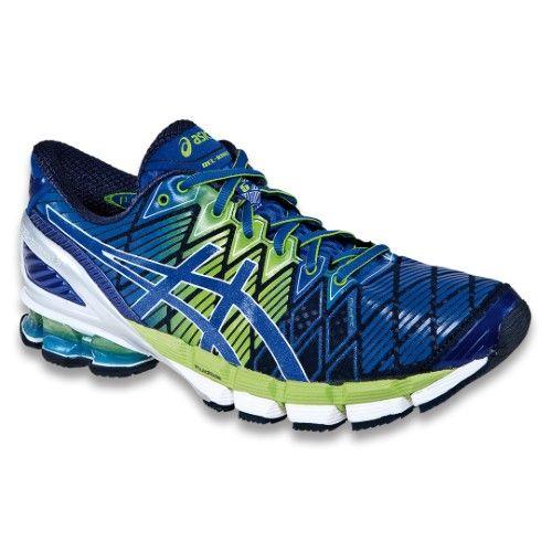 Asics Men S Gel Kinsei 5 Running Shoes T3e4y Blue Royal Green