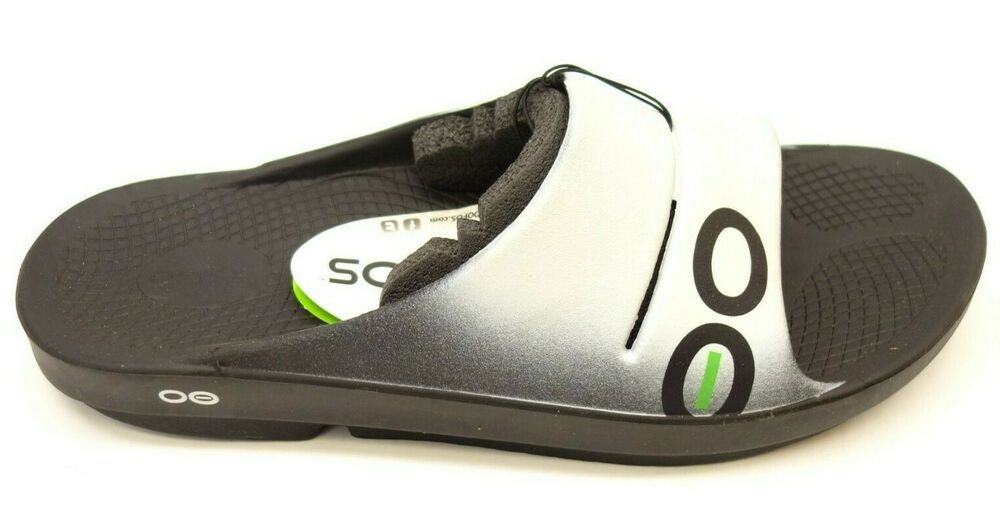 1ced9c98aa3 New OOFOS Mens OOahh Impact Absorption Recovery Footwear Sandal Cloud US 14   OOFOS  Slides