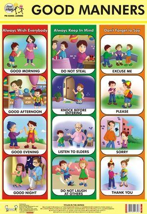 Good Manners Chart Parental Control