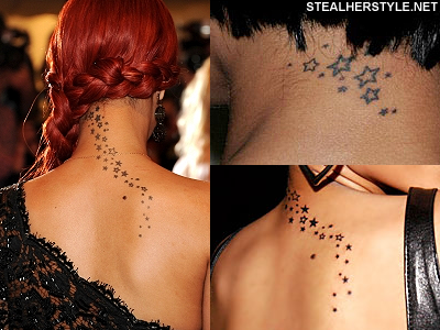 Rihanna S Tattoos Meanings Steal Her Style Back Tattoo Women Spine Rihanna Tattoo Back Tattoo Women