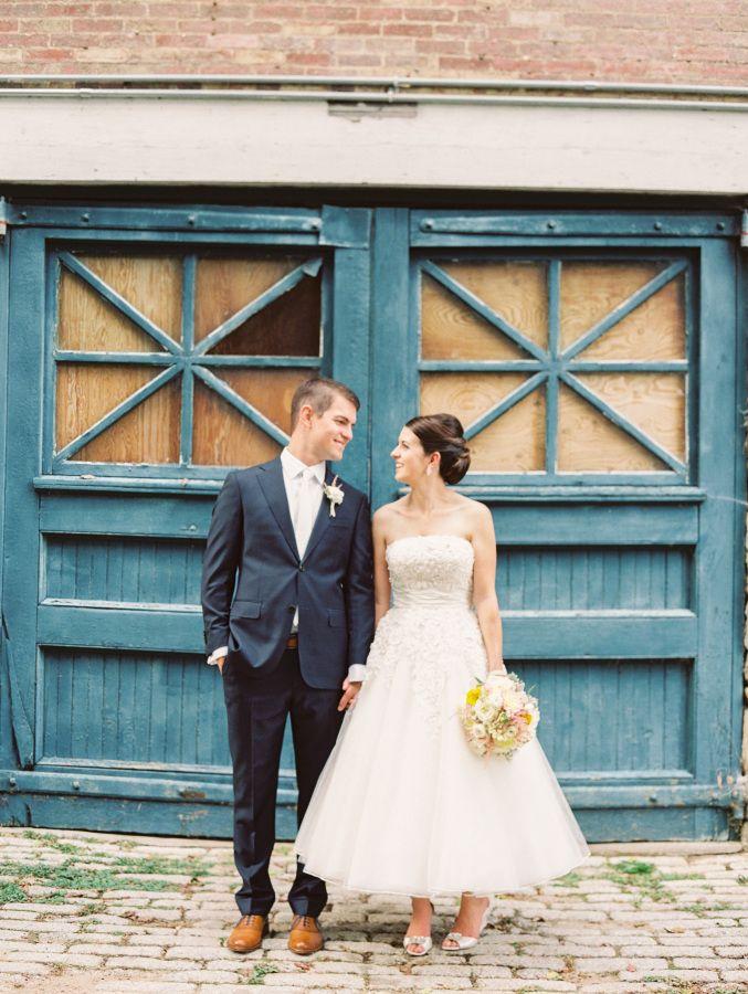 Tea-Length Wedding Dress - Wedding dress styles guide | fabmood.com