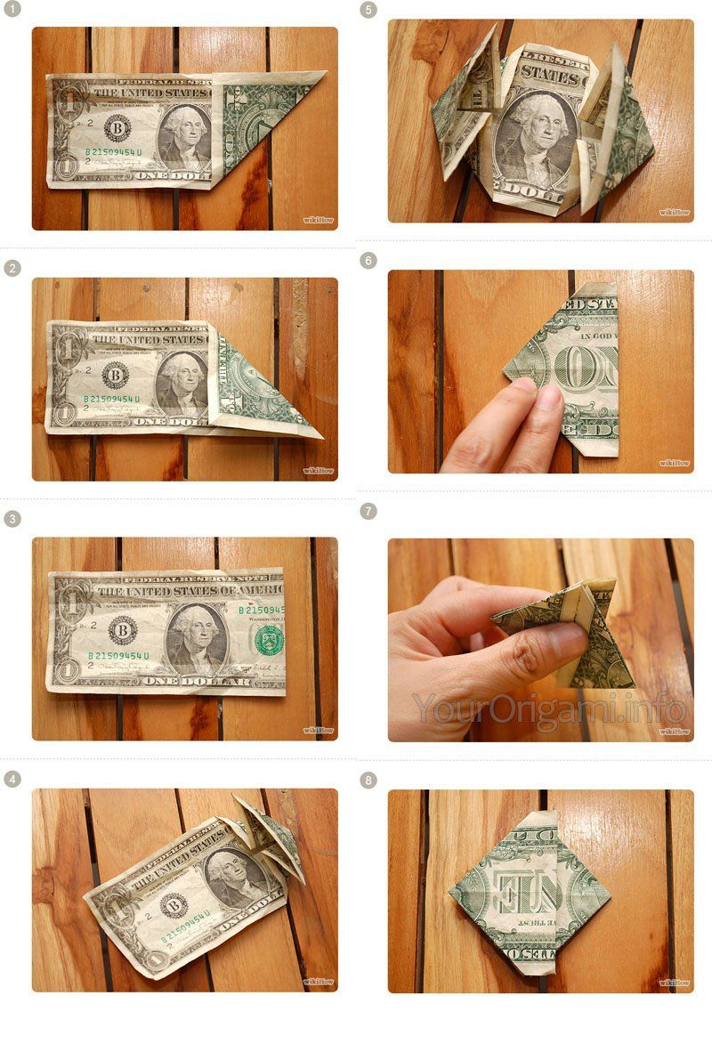 Доллар из купюр своими руками фото 333