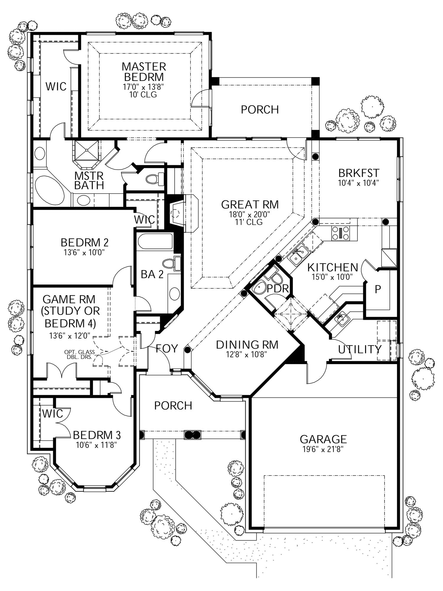 Pin By Sam Pittman On House Plans In