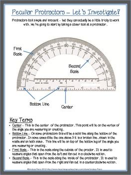 Drawing and Measuring Angles Lesson Plan | Coloring worksheets ...