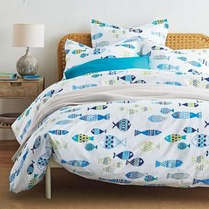 Company Store Fish Tale Sheets Bed Linens Luxury Bed Cool Beds