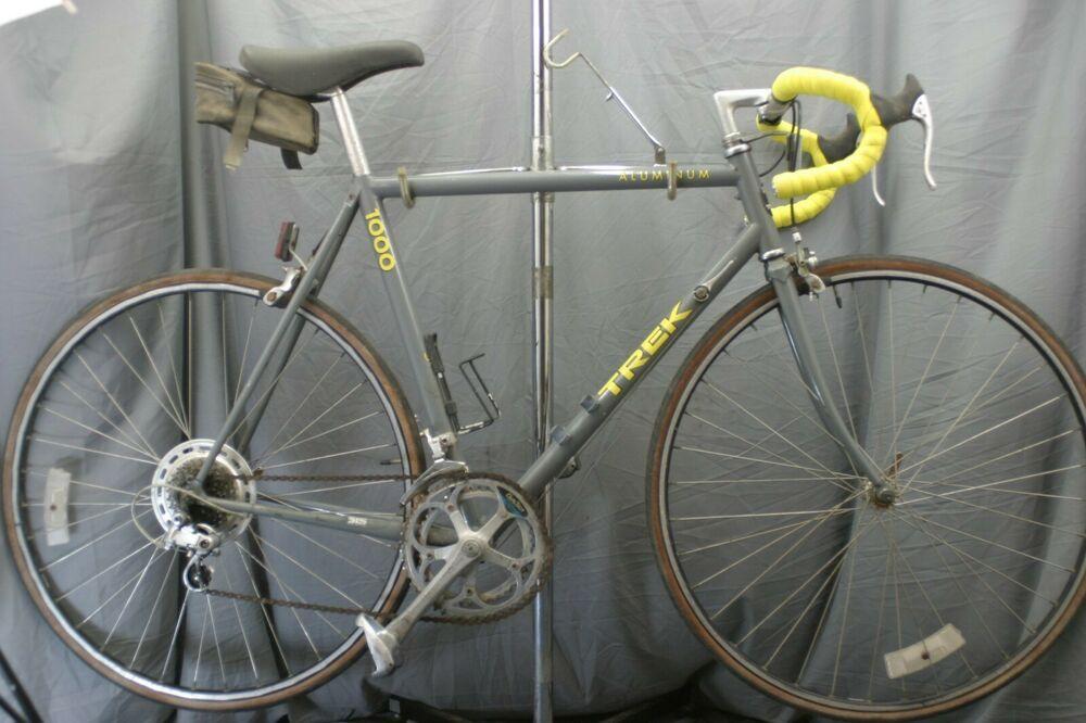 Trek 1000 Vintage Road Bike Usa Made 56 Large Shimano Slr Touring Gravel Charity Trek Road Bike Vintage Bike Usa Trek Bicycle