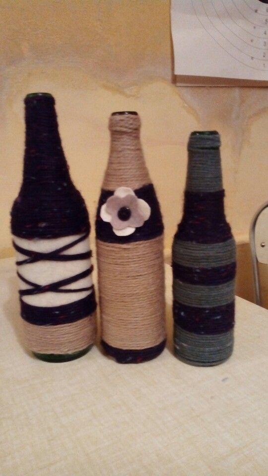 Bottiglie di lana