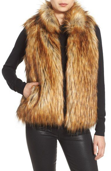 75ade9e15 BB Dakota 'Colton' Faux Fur Vest available at #Nordstrom | Life ...
