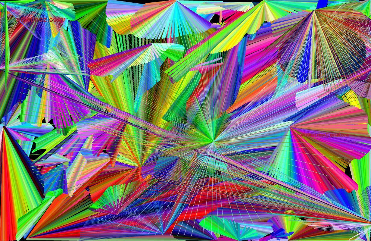 Rainbow of lines