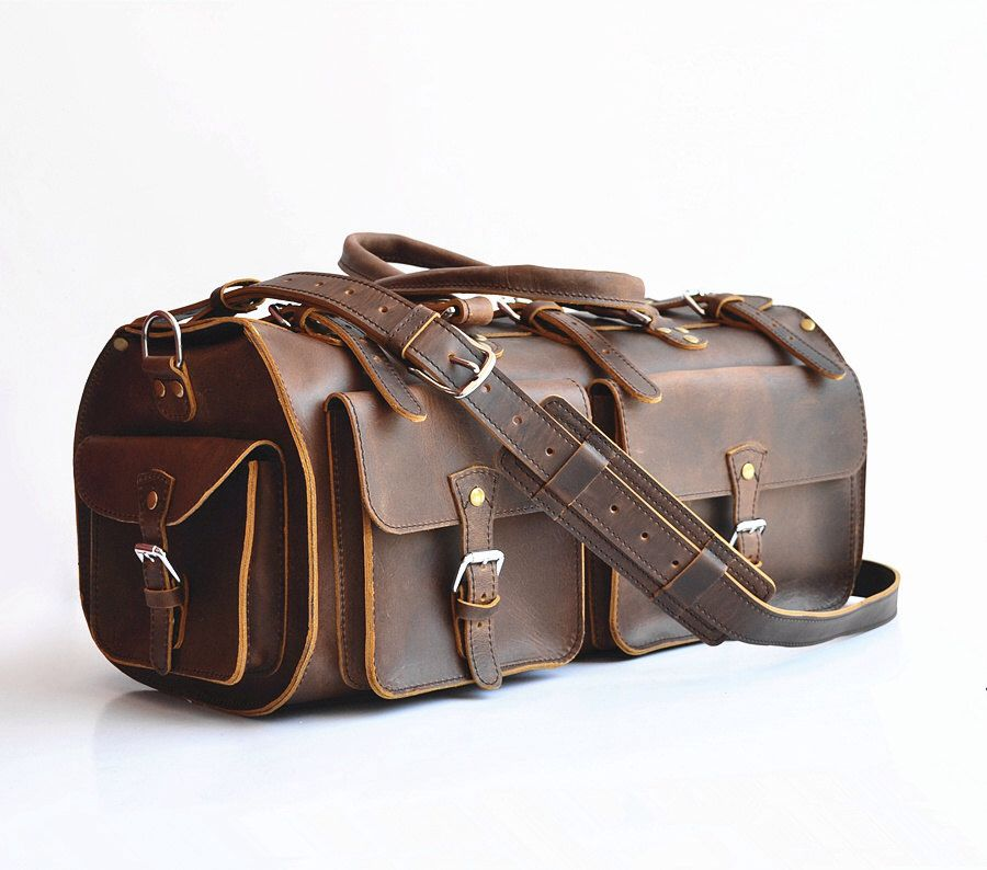 ... Awesome Leather Duffle Bag Leather Gym Bag Leather Travel Bag Leather  Luggage Leather Weekender Bag Leather ... 8e25210a65