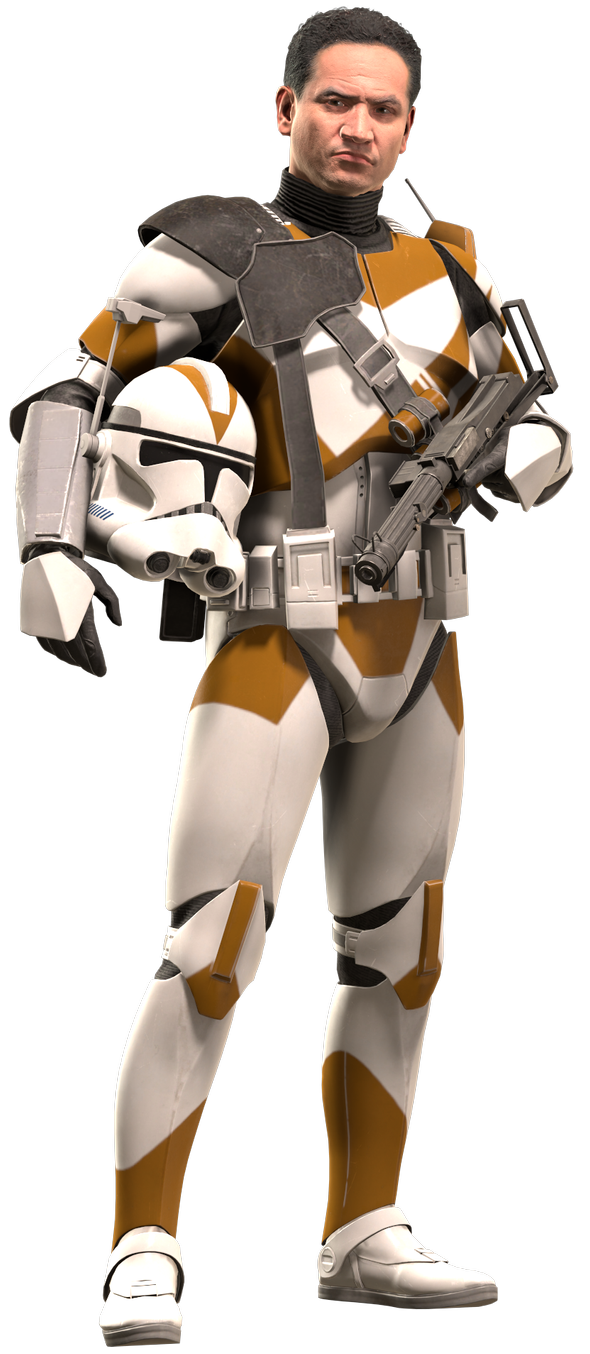 Clonetrooper Phase Ii 212th Officer By Yare Yare Dong On Deviantart Star Wars Awesome Star Wars Clone Wars Star Wars Art