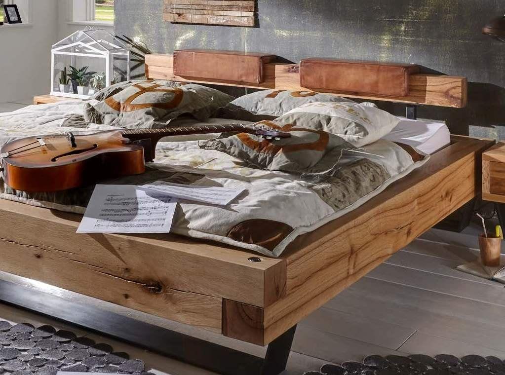 bett aus eiche balken heavy sleep pickupm b. Black Bedroom Furniture Sets. Home Design Ideas