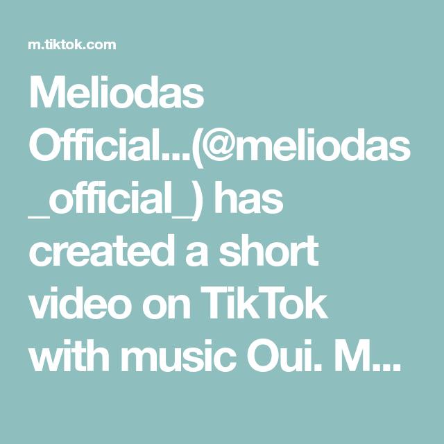 Meliodas Official Meliodas Official Has Created A Short Video On Tiktok With Music Oui Meliodas Should I Post More Seven D Seven Deadly Sins Music Video