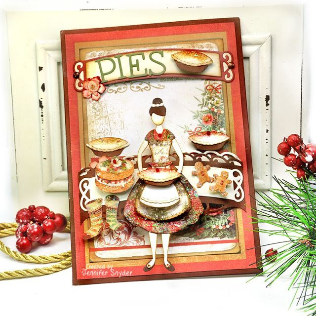 The Pie Shop - Spellbinders APG and Small Die of the Month - October Scrap Escape: The Pie Shop - C