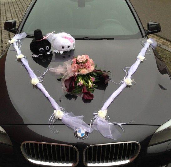 Trouw Bruiloft Autoversiering Bruiloft Huwelijk Trouwen