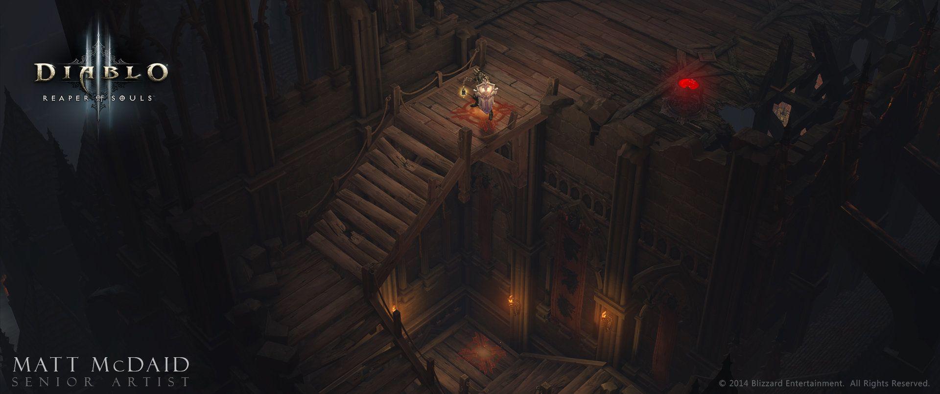 ArtStation - Diablo 3: Reaper of Souls, Matt McDaid