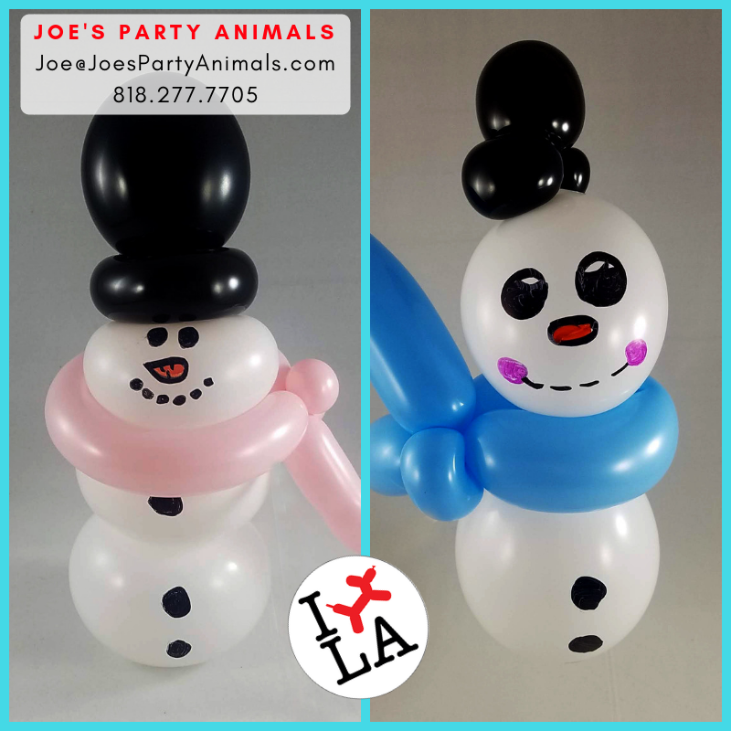 Frosty The Snowman… Make For A Great Balloon