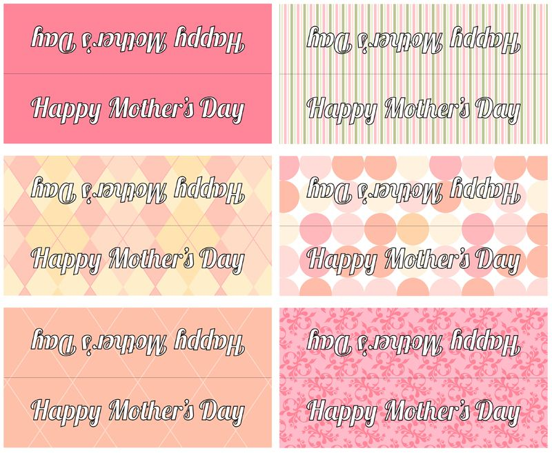 Mother's Day Lunch Bag Topper (PDF Printables) | Sewing ...