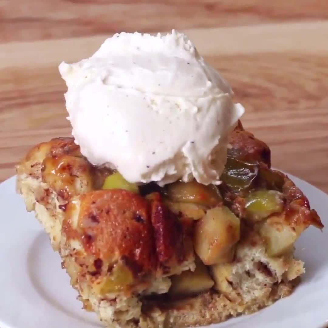 "Proper Tasty (proper_tasty) on Instagram ""Apple pie bake"