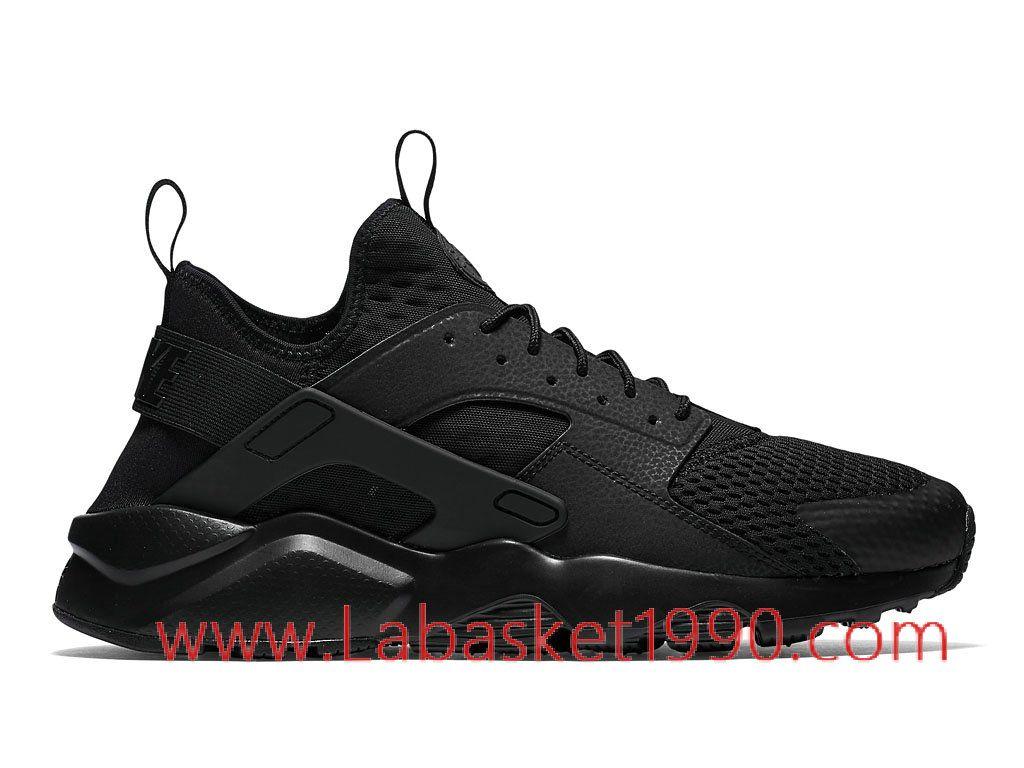 Nike Air Huarache Run Ultra Breathe 833147_001 Chaussures Nike Prix Pas  Cher Poru Homme Noir