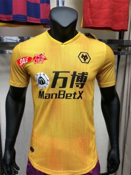2019 20 Cheap Jersey Wolves Home Player Version Soccer Shirt 2019 20 Cheap Jersey Wolves Home Player Version In 2020 Soccer Shirts Soccer Jersey Cheap Football Shirts