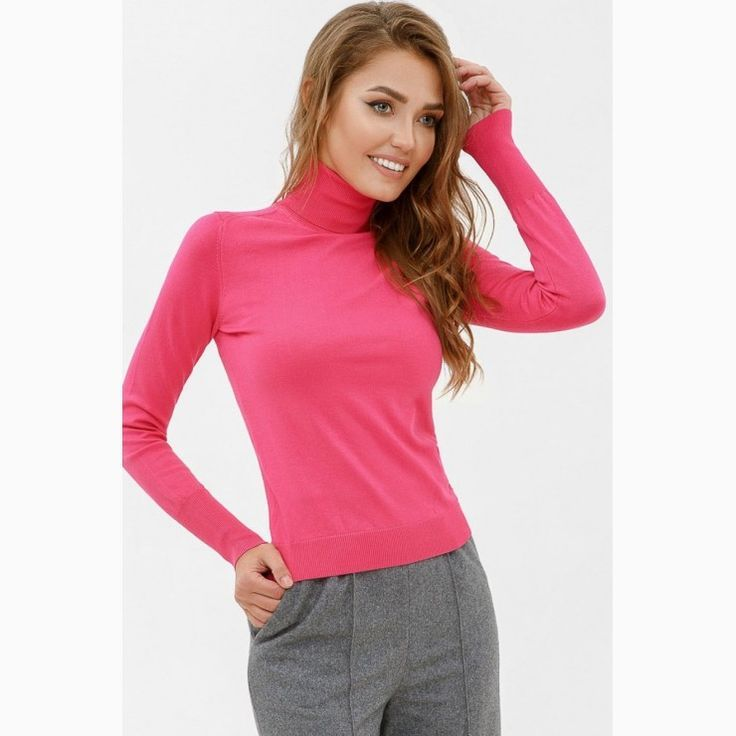 35e3fbfd03b93c Polo-neck Jumper-Cycloma in 2019 | WOMEN'S FASHION OF ALL KIND
