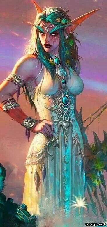 World of warcraft sexy artwork and wallpapers night elf